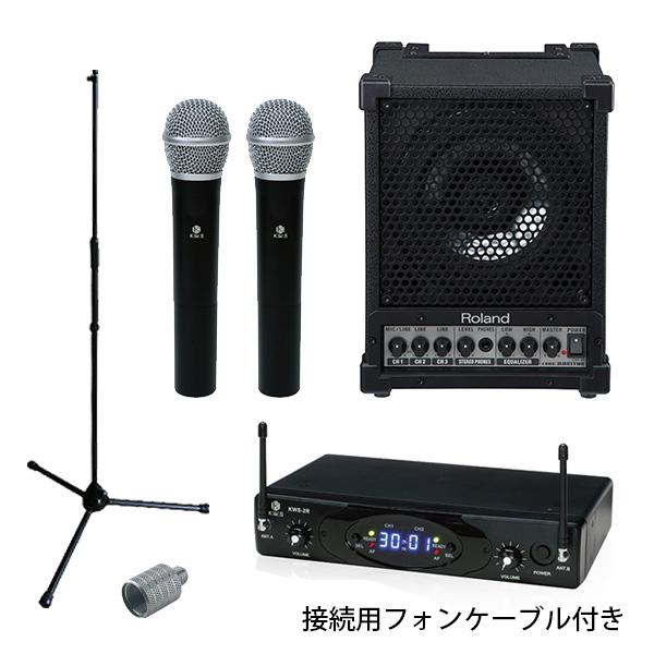 【選べるワイヤレスマイク2本セット】 CM-30 / KWS-2 セット 《 講演 ・イベントに最適 》