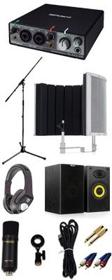 【 高品質ボーカルレコーディングセットC 】 Marantz(マランツ)  MPM-1000U /  Rubix22 / Sound Shield Live セット 1大特典セット
