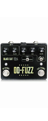 Black Cat(ブラックキャット) / OD-FUZZ Deluxe - ファズ - 《ギターエフェクター》 1大特典セット