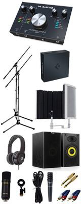 【 Cubase Pro 9 (アカデミック版) 高品質弾き語り録音スピーカーセットA 】 Marantz(マランツ)  MPM-1000U / M-TRACK 2x2M / PRO63 / Sound Shield Live セット 1大特典セット