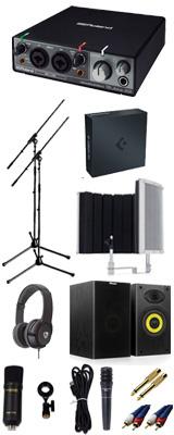 【 Cubase Pro 9 (アカデミック版) 高品質弾き語り録音スピーカーセットC 】 Marantz(マランツ)  MPM-1000U / Rubix22 / PRO63 / Sound Shield Live セット 1大特典セット