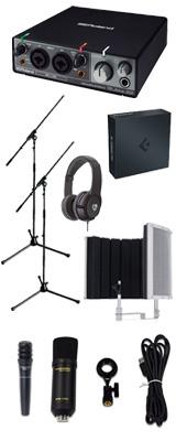 【 Cubase Pro 9 (アカデミック版) 高品質弾き語り録音セットC 】 Marantz(マランツ)  MPM-1000U / Rubix22 / PRO63 / Sound Shield Live セット 1大特典セット