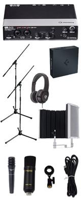 【 Cubase Pro 9 (アカデミック版) 高品質弾き語り録音セットB 】 Marantz(マランツ)  MPM-1000U / UR242 / PRO63 / Sound Shield Live セット 1大特典セット