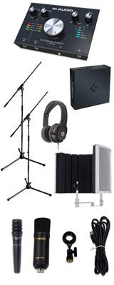 【 Cubase Pro 9 (アカデミック版) 高品質弾き語り録音セットA 】 Marantz(マランツ)  MPM-1000U / M-TRACK 2x2M / PRO63 / Sound Shield Live セット 1大特典セット