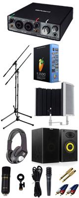 【 FL STUDIO 20 高品質弾き語り録音スピーカーセットC 】 Marantz(マランツ)  MPM-1000U / Rubix22 / PRO63 / Sound Shield Live セット 1大特典セット