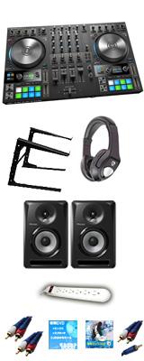 TRAKTOR KONTROL S4 MK3 & Pioneer S-DJ60X 激安定番Cセット 【TRAKTOR PRO 3 付属】 13大特典セット