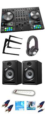 TRAKTOR KONTROL S4 MK3 & Pioneer S-DJ80X 激安定番Cセット 【TRAKTOR PRO 3 付属】 13大特典セット