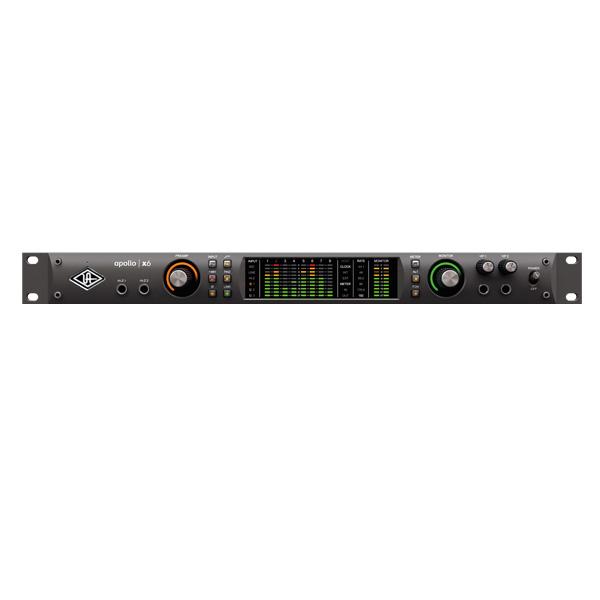 Universal Audio(ユニバーサルオーディオ) / Apollo x6 - 2xUnisonマイクプリアンプ搭載16イン/22アウトオーディオインターフェイス  -