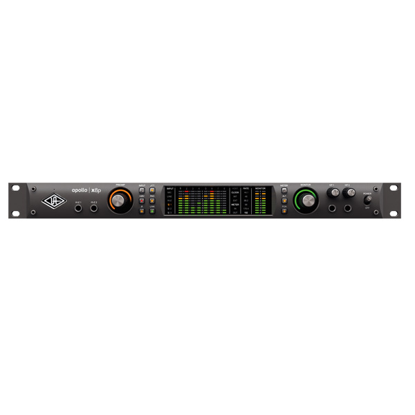 Universal Audio(ユニバーサルオーディオ) / Apollo X8P - 8xUnisonマイクプリアンプ搭載18イン/22アウトオーディオインターフェイス -