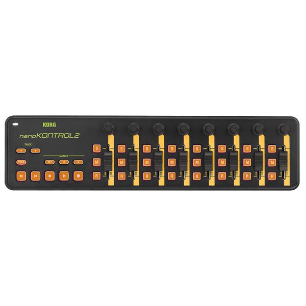 Korg(コルグ) / nano KONTROL2 ORGR (オレンジ&グリーン/限定カラー) - USB-MIDIコントローラー -