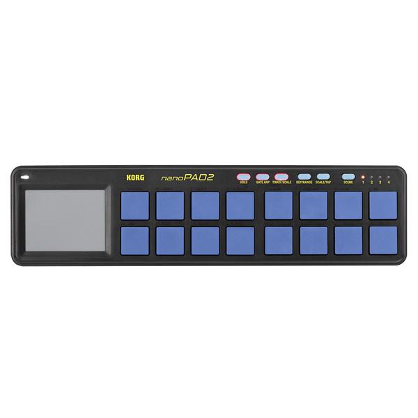 Korg(コルグ) / nanoPAD2 BLYL (ブルー&イエロー/限定カラー) - USB-MIDIコントローラー -