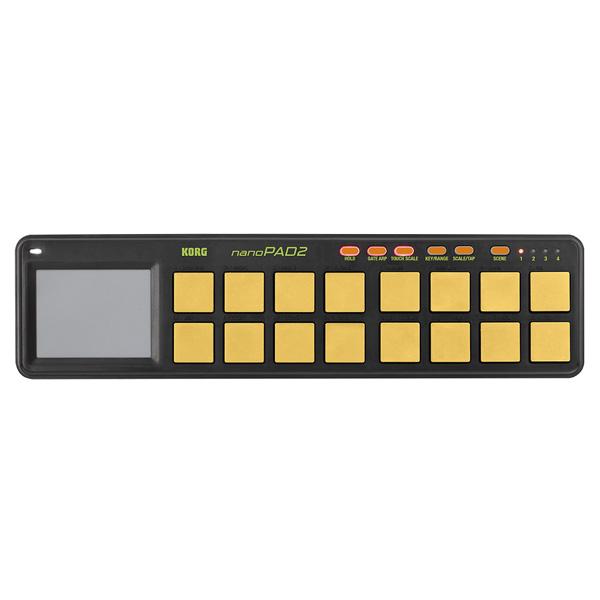 Korg(コルグ) / nanoPAD2 ORGR (オレンジ&グリーン/限定カラー) - USB-MIDIコントローラー -