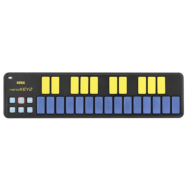 Korg(コルグ) / nanoKEY2 BLYL  (ブルー&イエロー/限定カラー) - USB-MIDIコントローラー -