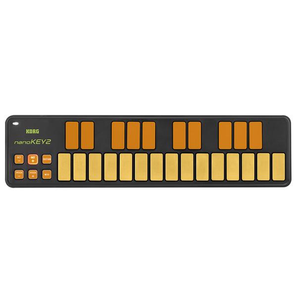 Korg(コルグ) / nanoKEY2 ORGR  ORGR (オレンジ&グリーン/限定カラー) - USB-MIDIコントローラー -