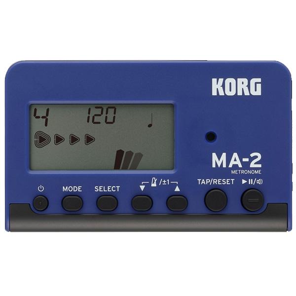 Korg(コルグ) / MA-2-BLBK (ブルーブラック) - 管弦楽器 メトロノーム チューナー -