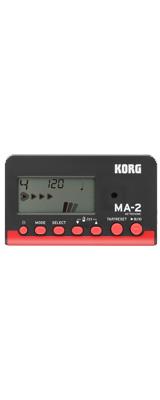 ■ご予約受付■ Korg(コルグ) / MA-2-BKRD (ブラックレッド) - 管弦楽器 メトロノーム チューナー - 【11月3日発売予定】