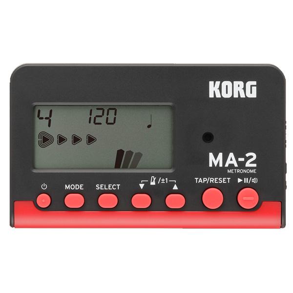 Korg(コルグ) / MA-2-BKRD (ブラックレッド) - 管弦楽器 メトロノーム チューナー -
