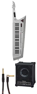 ■ご予約受付■ 【CM-30セット】 Roland(ローランド) / AX-EDGE-W / CM-30 ホワイト 49鍵 - ショルダー・キーボード - 1大特典セット