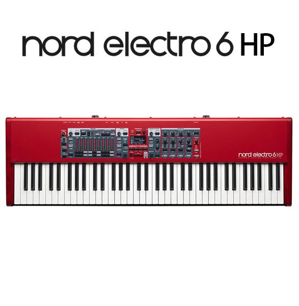 ■ご予約受付■ Clavia(クラヴィア) / Nord Electro 6 HP - 73鍵 ステージ ・ キーボードー - 【次回納期確認中】 1大特典セット