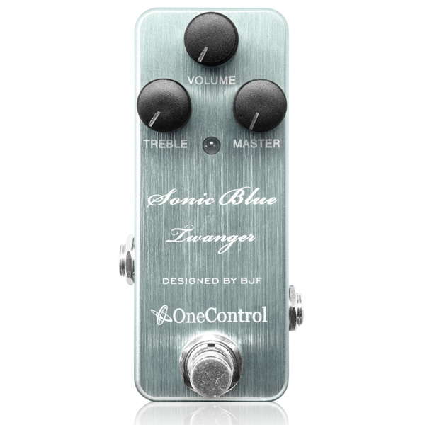 One Control(ワンコントロール) / Sonic Blue Twanger - オーバードライブ -  《ギターエフェクター》
