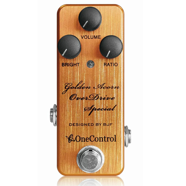 One Control(ワンコントロール) / Golden Acorn OverDrive Special - オーバードライブ -  《ギターエフェクター》