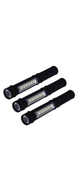【3本セット】 NewVan / Tech 3 in 1 Multi-Function - LED 懐中電灯 電池式 -