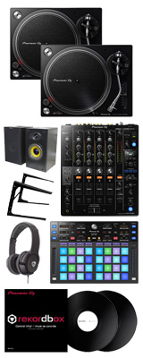 PLX-500-K/DJM-750MK2/DDJ-XP1 rekordbox dvsパーフェクトスタートセット【今だけ数量限定!rekordboxパーフェクトガイド付】 13大特典セット