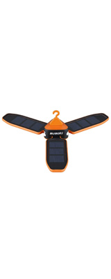SUAOKI / Collapsible Clover Style (orange) - ソーラー USB 充電式 ランタン -