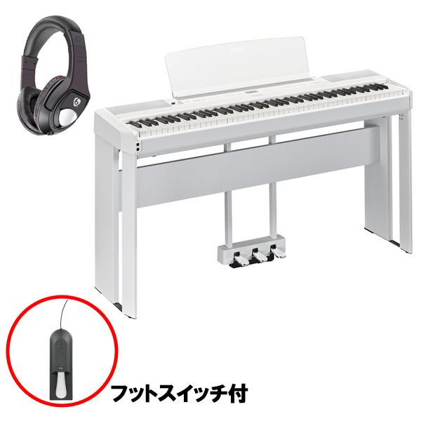 【専用スタンド&ペダルセット】 YAMAHA(ヤマハ) / P-515WH ホワイト / L-515WH ホワイト / LP-1WH ホワイト - 電子ピアノ - 【11月1日発売予定】