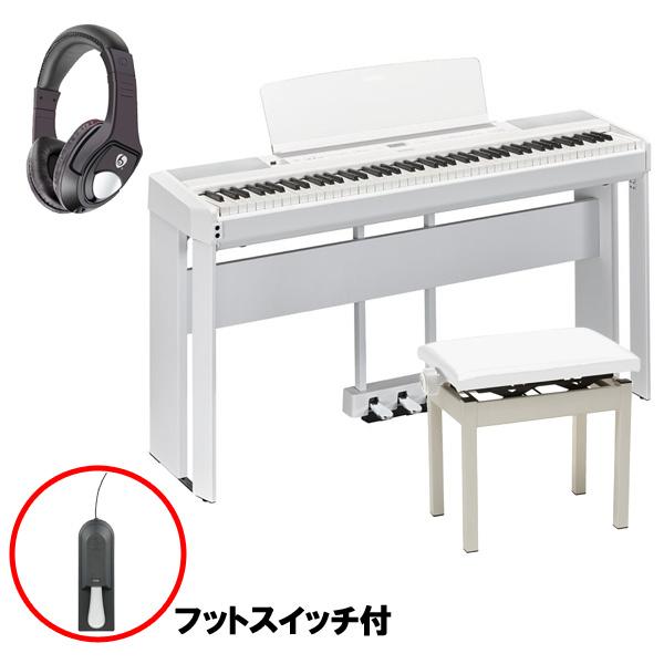【フルセット】 YAMAHA(ヤマハ) / P-515WH ホワイト / L-515WH ホワイト / LP-1WH ホワイト / PC-300WH ホワイト - 電子ピアノ - 【11月1日発売予定】