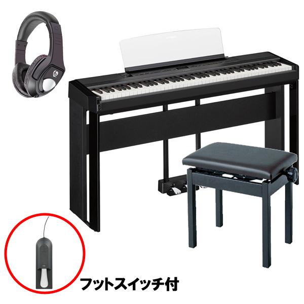 【フルセット】 YAMAHA(ヤマハ) / P-515B ブラック / L-515B ブラック / LP-1B ブラック / PC-300BK ブラック - 電子ピアノ - 【11月1日発売予定】