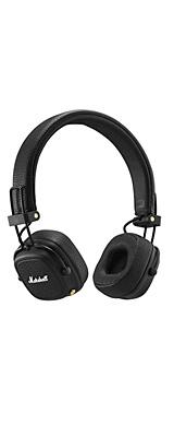 Marshall(マーシャル) / MAJOR III BLUETOOTH (BLACK) - Bluetooth対応ワイヤレスヘッドホン - 1大特典セット