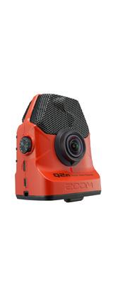 Zoom(ズーム) / Q2n/R Handy Video Recorder(レッド) - フルHD撮影対応 ハンディ・ビデオ・レコーダー -