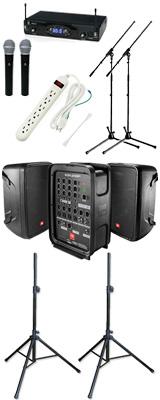 【KWSワイヤレスマイク2本セット】  EON208P / KWS-2H/H 《 講演 ・イベントに最適 》 1大特典セット