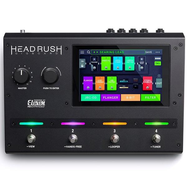 HEADRUSH(ヘッドラッシュ) / Gigboard - アンプモデリングプロセッサー - 《ギターマルチエフェクター》【次回2月頃】