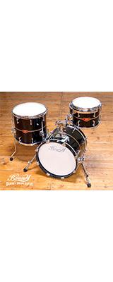 """■ご予約受付■ 【納期要確認】Bonney Drum Japan(ボニードラムジャパン) / JAM 16"""" Bass Drum Set (Ant Black) -小口径 ドラムセット -"""