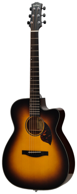 新品・大特価!! Headway(ヘッドウェイ) / HC-313/STD SB(サンバースト)  エレクトリック・アコースティックギター 【ハードケース付属】