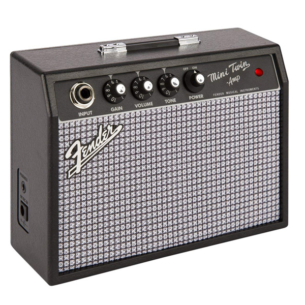 Fender USA(フェンダー USA) / Mini '65 Twin Amp - 電池駆動 ミニアンプ ギターアンプ -