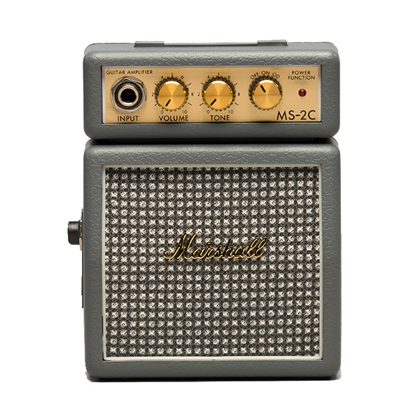 Marshall(マーシャル) / MS-2C (ヴィンテージグレー) - 電池駆動 ミ二アンプ ギターアンプ -