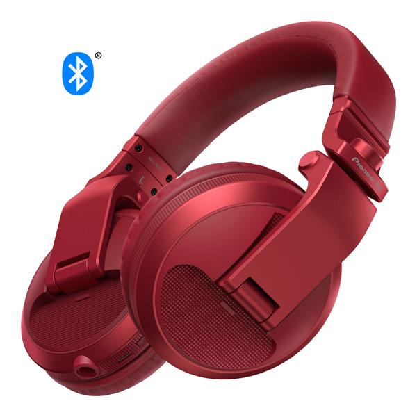 Pioneer(パイオニア) / HDJ-X5BT-R(メタリックレッド) -  DJ用ヘッドホン -