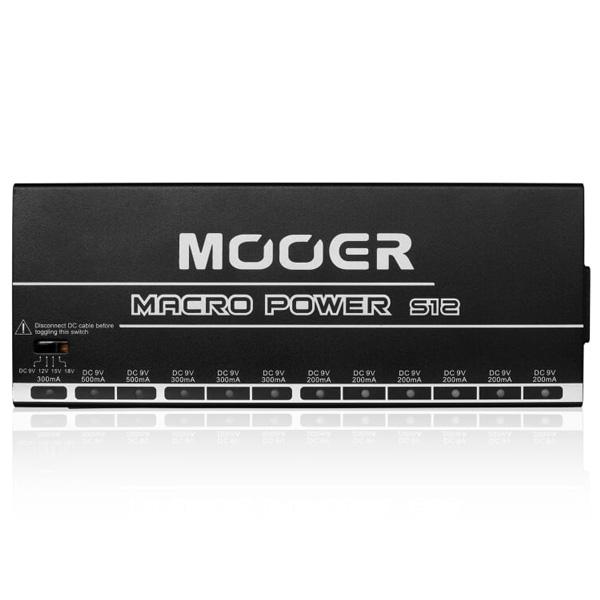 MOOER(ムーアー) / Macro Power S12 All Isolated Power Supply - パワーサプライ - 【ケーブル付】