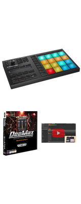 MASCHINE MIKRO MK3 / Native Instruments(ネイティブインストゥルメンツ) 【音圧アップ!Deemaxプレゼント】 4大特典セット