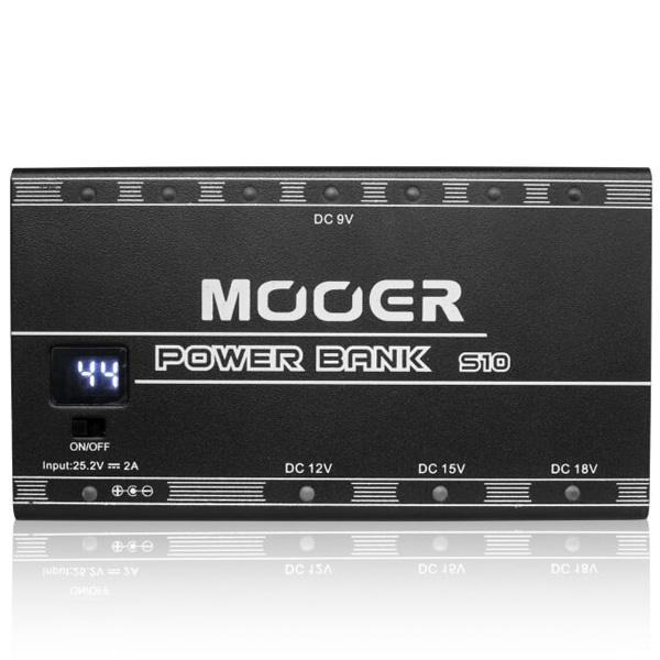 MOOER(ムーアー) / Power Bank S10 Rechargeable Power Supply - パワーサプライ - 【ケーブル付】