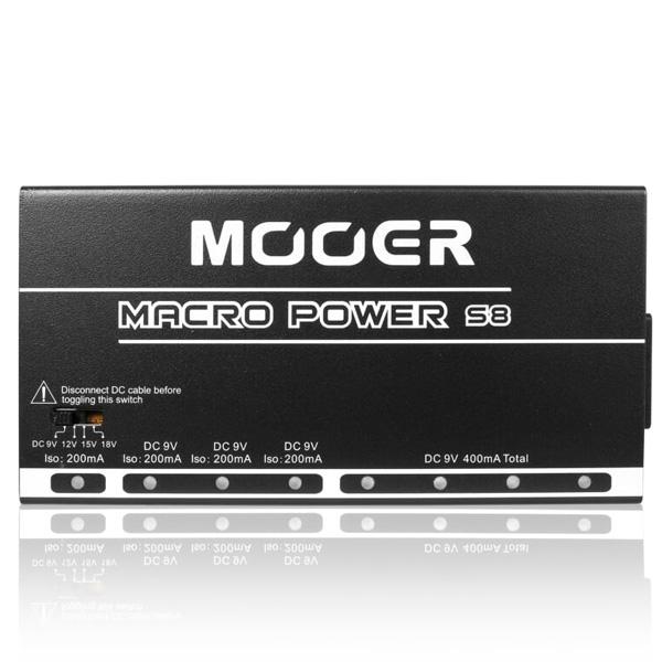 MOOER(ムーアー) / Macro Power S8 Isolated Power Supply - パワーサプライ - 【ケーブル付】