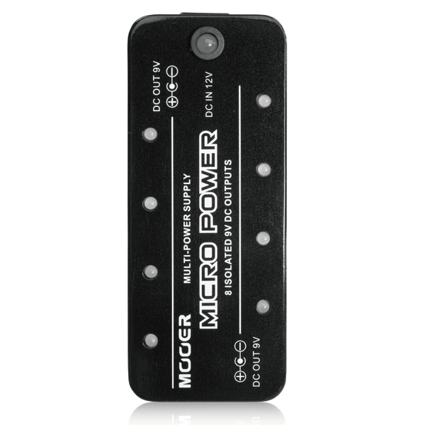 MOOER(ムーアー) / Micro Power - パワーサプライ - 【ケーブル付】
