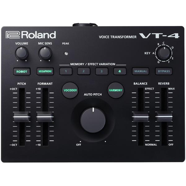 Roland(ローランド) AIRA / VT-4 ボーカル・エフェクター【10月19日発売予定】