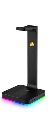 Corsair(コルセア) / Gaming ST100 RGB プレミアム ヘッドセット スタンド - 7.1chサラウンド機能搭載 光るヘッドホンスタンド -