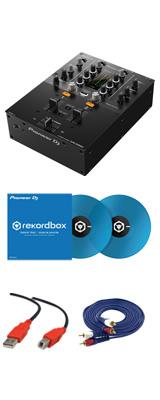Pioneer(パイオニア) / DJM-250MK2 & コントロールバイナル(クリアブルー)DVSセット 2大特典セット