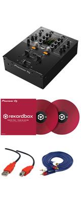 Pioneer(パイオニア) / DJM-250MK2 & コントロールバイナル(クリアレッド)DVSセット 2大特典セット