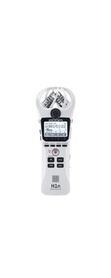 Zoom(ズーム) /  H1n/W ホワイト  [XYステレオマイク搭載] - ハンディレコーダー -